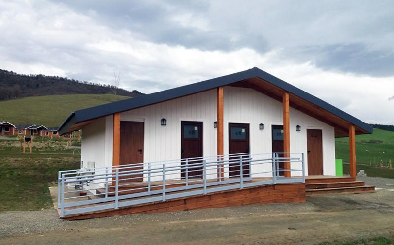 edificio modular camping Izarpe
